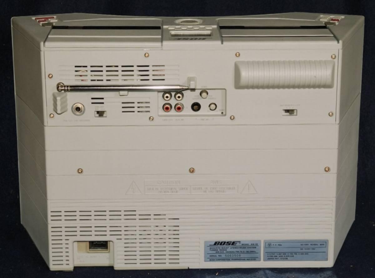 BOSE AW-1D 美品 ・完全レストア品・超オリジナル音・専用BAG/動作保証1年付き_画像6