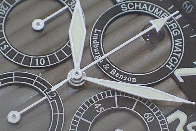 シャウボーグ ウォッチ L&B スクエアマチック クロノグラフ_画像7