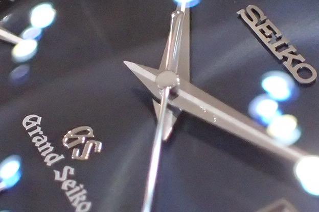 グランドセイコー ネイビー文字盤 クォーツ SBGX007_画像6
