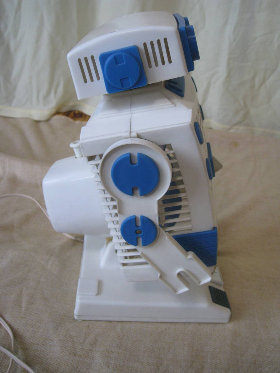 ROBOT THE FAN ロボット扇風機 80s レトロ 中古 完動品_画像3