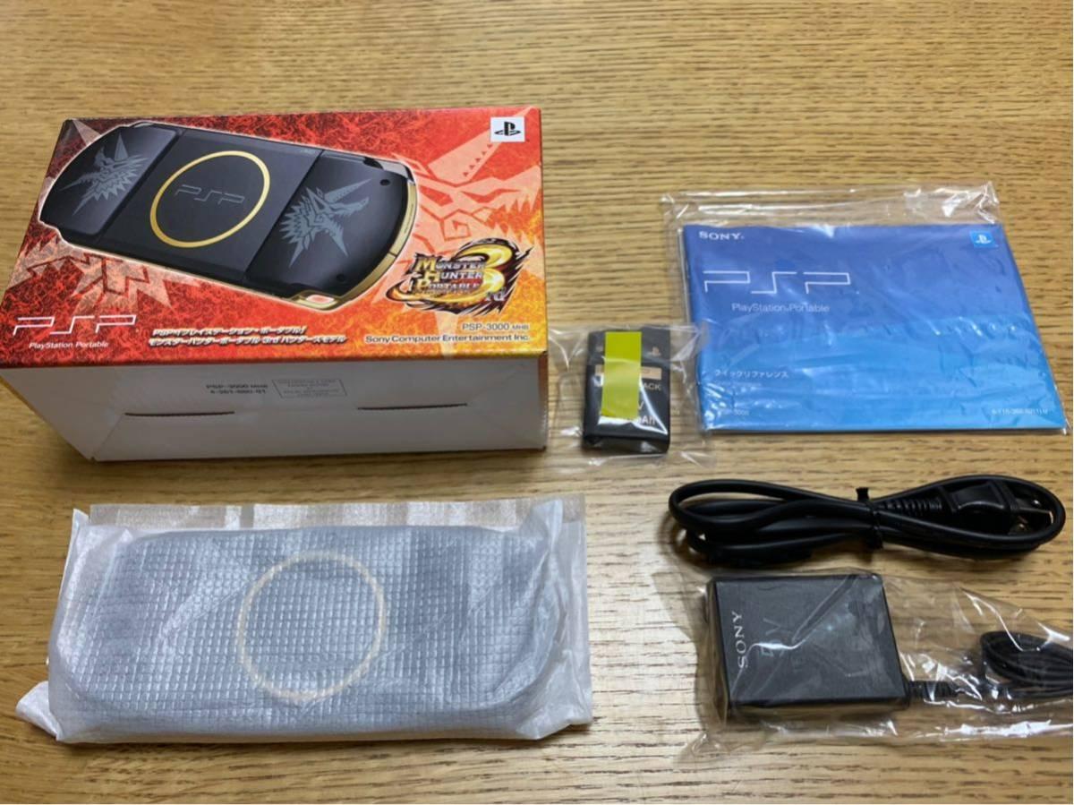 【新品同様】PSP3000☆ハンターズモデル☆希少☆_画像2