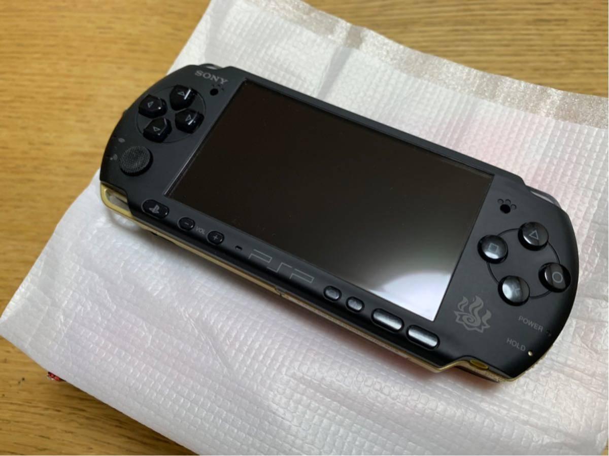 【新品同様】PSP3000☆ハンターズモデル☆希少☆_画像3