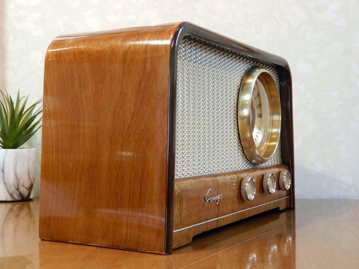 真空管ラジオ サンヨー SS-48型 【整備済】_画像3