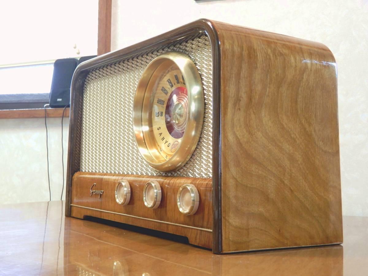 真空管ラジオ サンヨー SS-48型 【整備済】_画像4