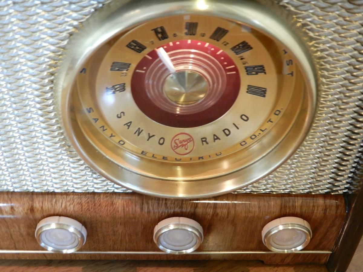 真空管ラジオ サンヨー SS-48型 【整備済】_画像6