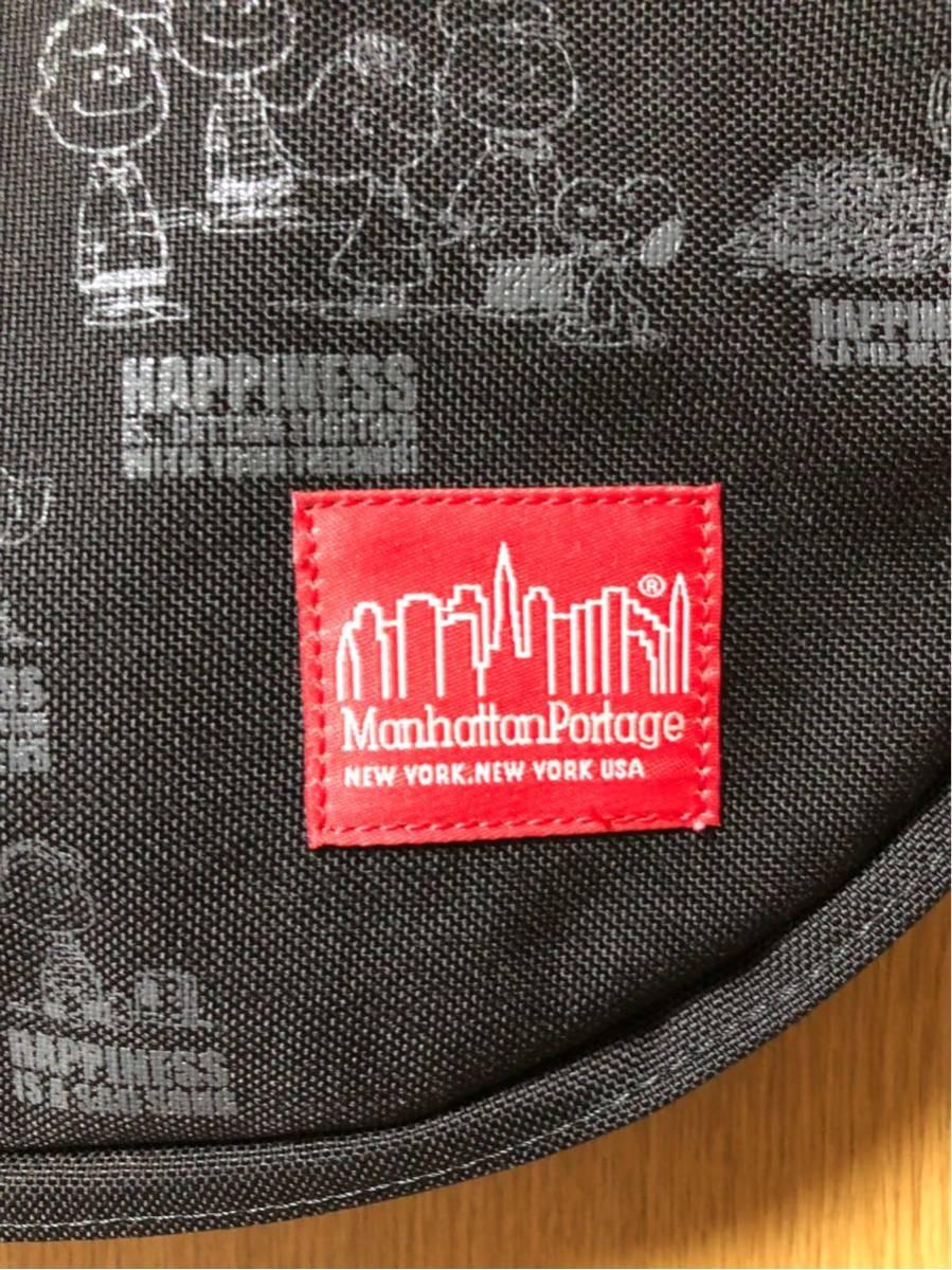 新品未使用 レア 希少価値 限定品 マンハッタンポーテージ ピーナッツ スヌーピー Manhattan Portage コラボ ショルダーバッグ_画像3
