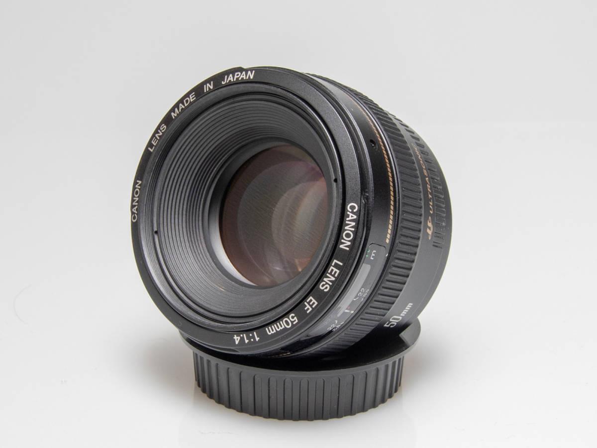 ★美品★Canon キヤノン EF 50mm F1.4 USM_画像4