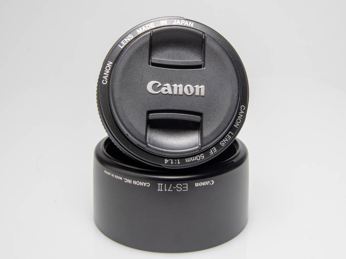 ★美品★Canon キヤノン EF 50mm F1.4 USM_画像5