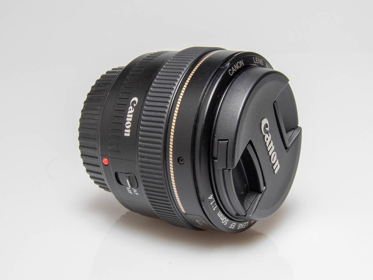 ★美品★Canon キヤノン EF 50mm F1.4 USM_画像7