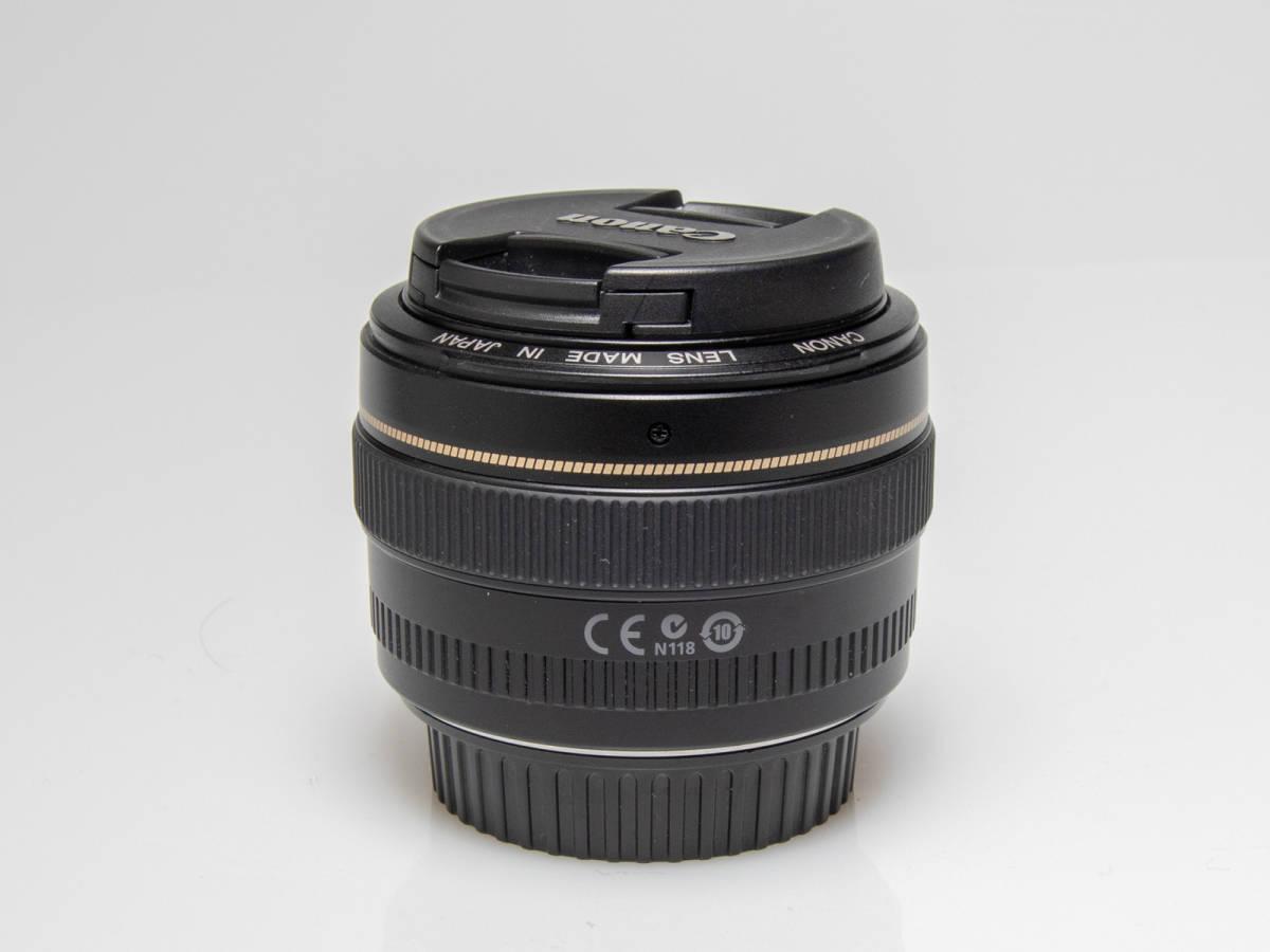 ★美品★Canon キヤノン EF 50mm F1.4 USM_画像9