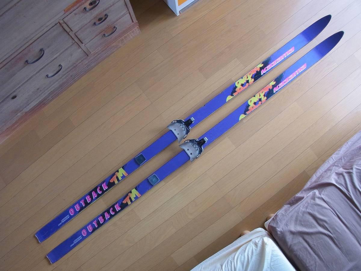 ★☆テレマークスキー カザマ アウトバック 192cm ☆★