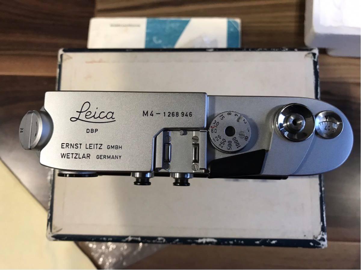 コレクション品 ライカ M4 Lシール 元箱付き 1268946 1970年製_画像5