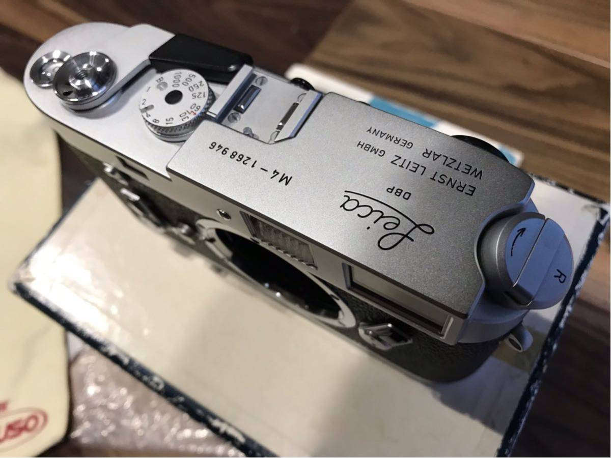 コレクション品 ライカ M4 Lシール 元箱付き 1268946 1970年製_画像6