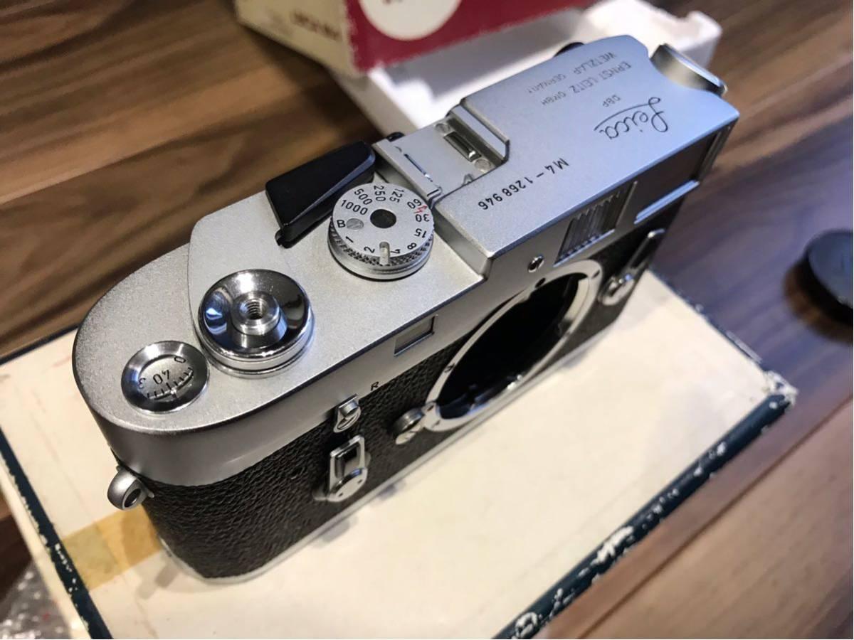 コレクション品 ライカ M4 Lシール 元箱付き 1268946 1970年製_画像7