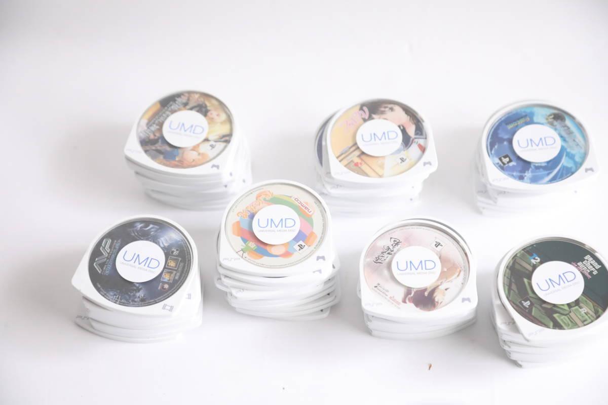 PSP ゲームソフト 71本まとめセット UMD エイリアンVSプレデター、オーシャンズ11等UMDディスク_画像7