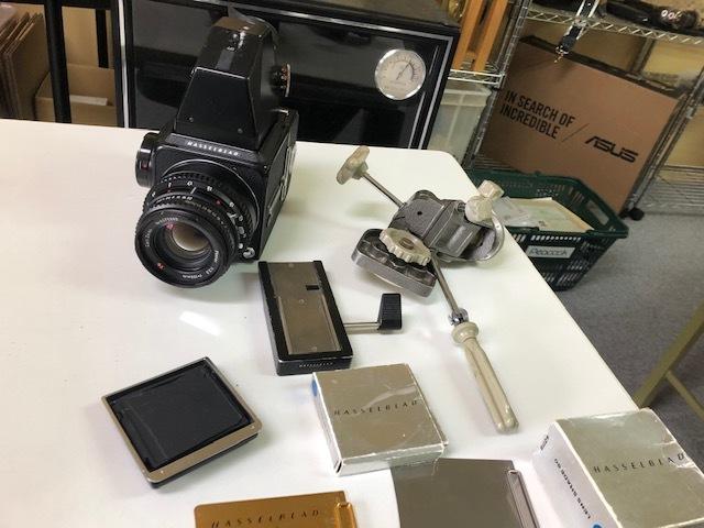 1円スタート HASSELBLAD 500C/M 中判カメラ ボディ Carl Zeiss
