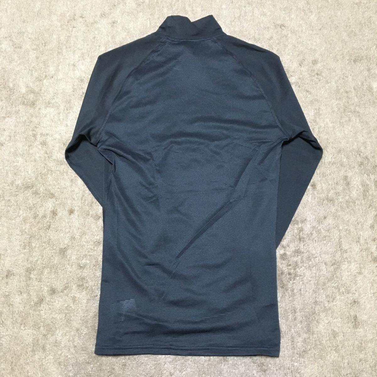【新品】アンダーアーマーヒートギアシャツ ブラック MD