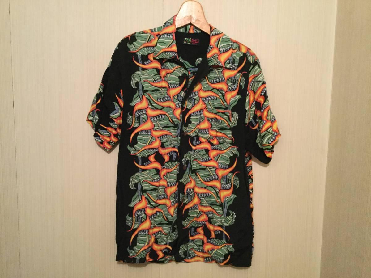 アロハシャツ サザンアイランド M 黒_画像1