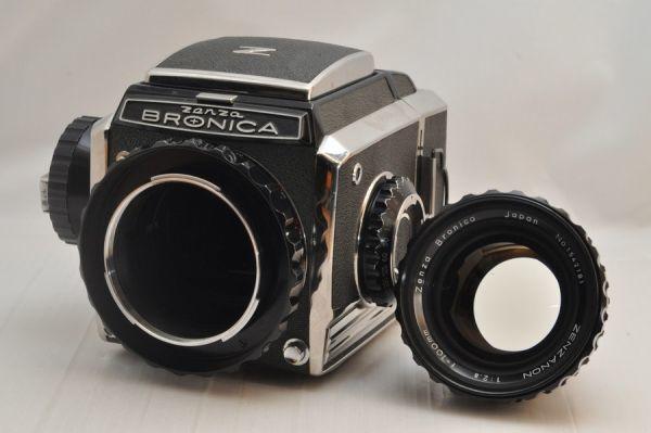 ★超極上美品★BRONICA S2 ボディ + 100mm F2.8 レンズ セット #10175_画像6