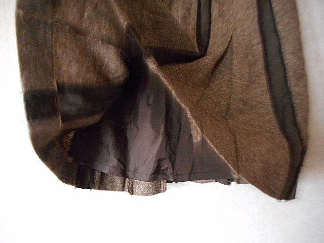 ★チアリーディングのようなデザイン★スカート ストライプ ウール /cledevers(クレデヴェール)_画像4