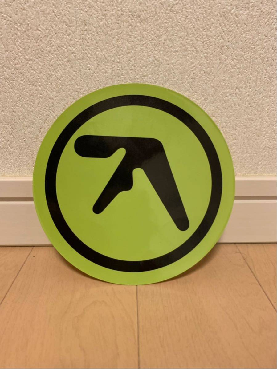 aphex twin 大判 ロゴ ステッカー エイフェックス disk union