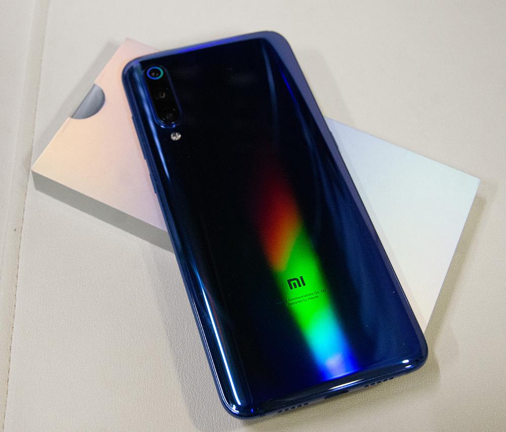 Xiaomi Mi9 Ocean Blue 128GB / 8GB BLU・Global ROM適用済み 中古_画像4