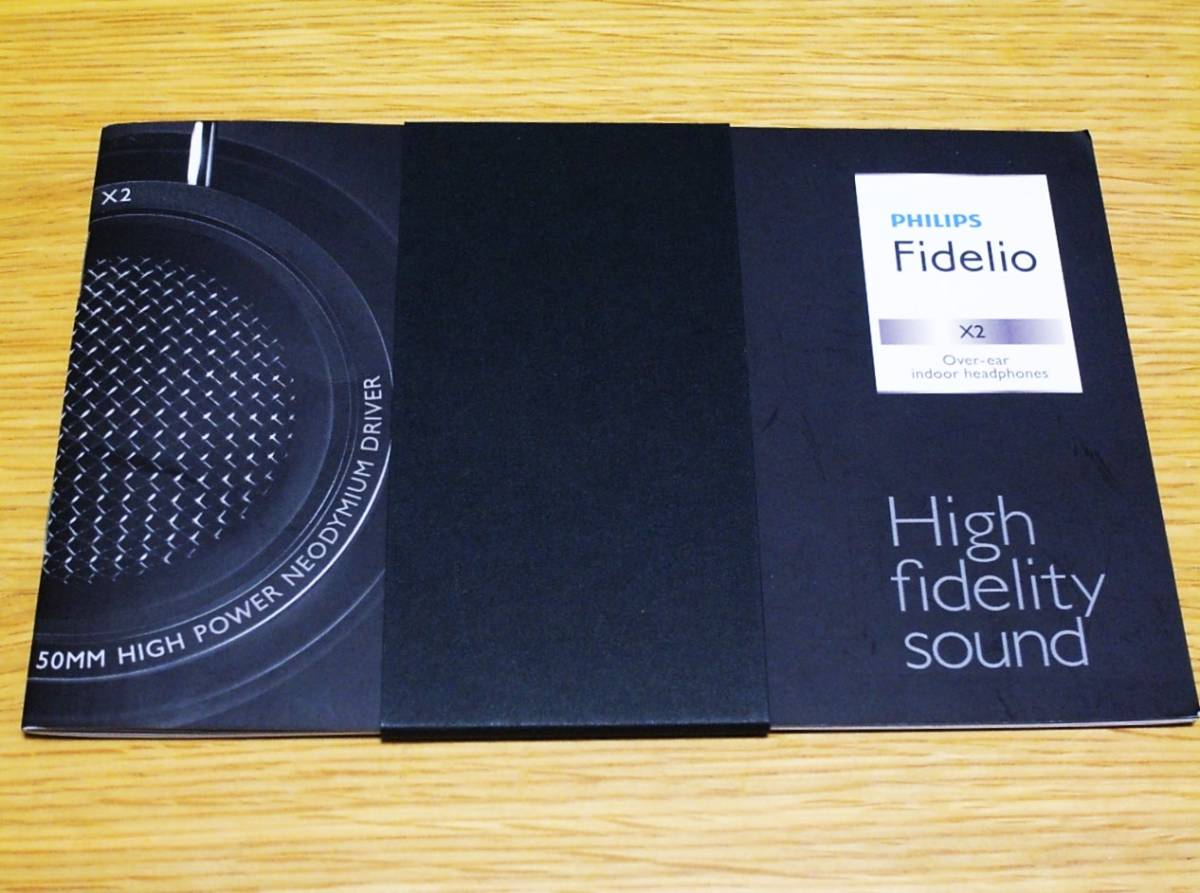 ★新同 PHILIPS Fidelio X2 ハイレゾ対応 高音質開放型ヘッドフォン フィリップス _画像6