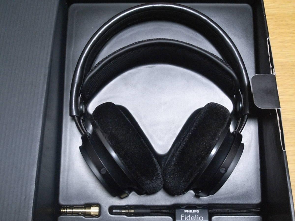 ★新同 PHILIPS Fidelio X2 ハイレゾ対応 高音質開放型ヘッドフォン フィリップス _画像2
