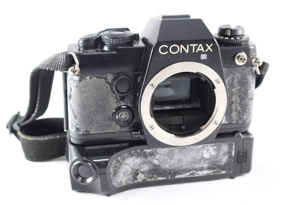 CONTAX コンタックス 139 QUARTZ 一眼レフ フィルムカメラ ボディ + 139WINDER + アングルファインダー セット_画像2