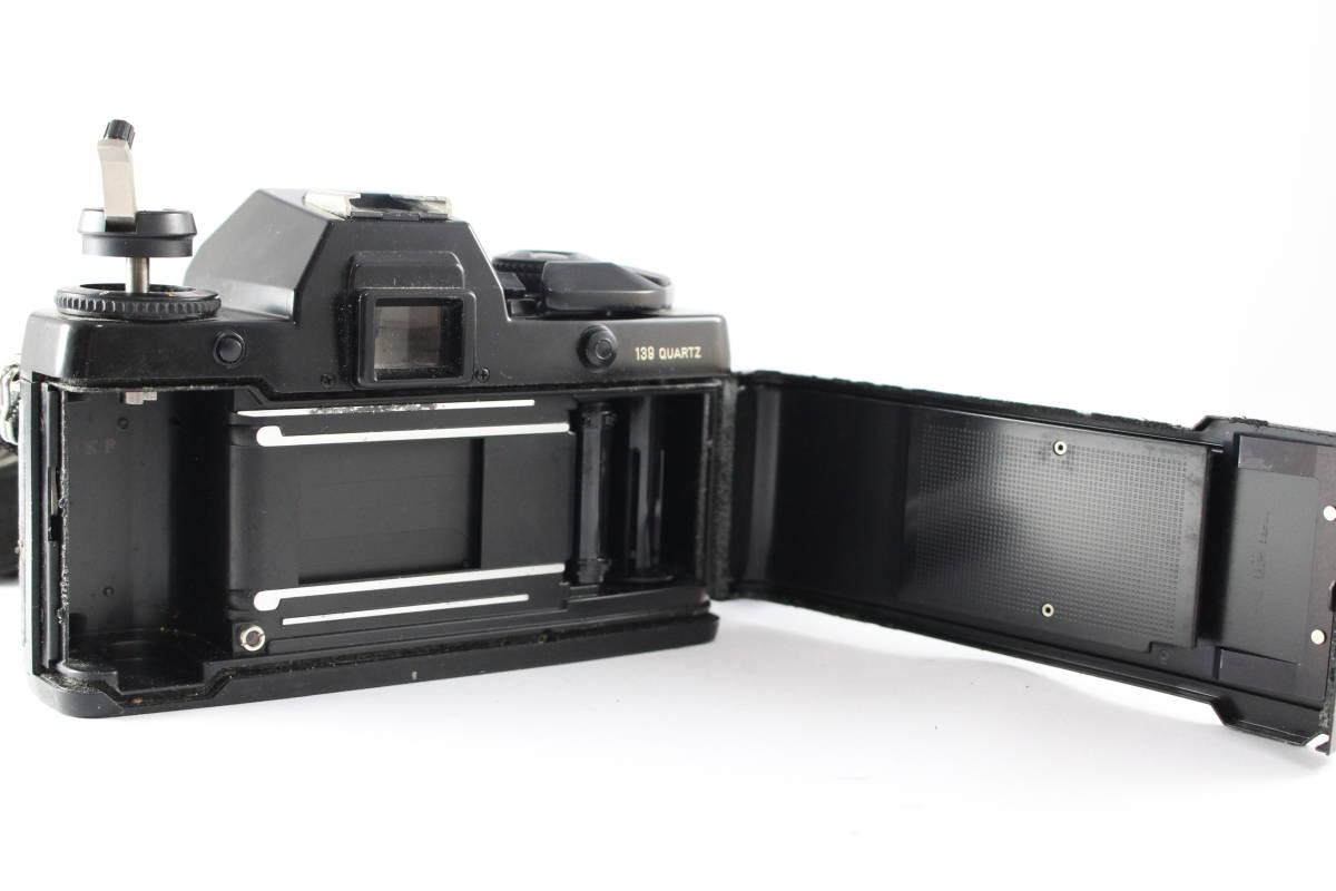 CONTAX コンタックス 139 QUARTZ 一眼レフ フィルムカメラ ボディ + 139WINDER + アングルファインダー セット_画像6