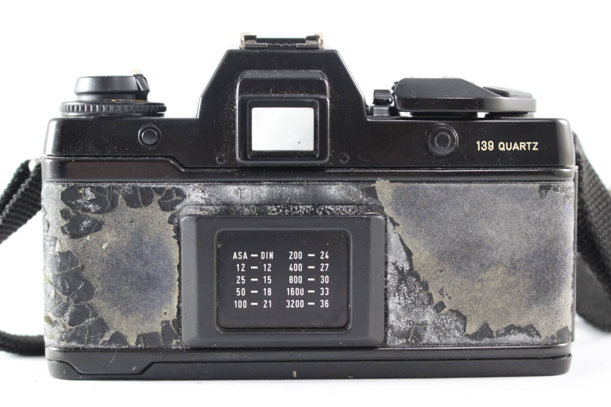 CONTAX コンタックス 139 QUARTZ 一眼レフ フィルムカメラ ボディ + 139WINDER + アングルファインダー セット_画像5