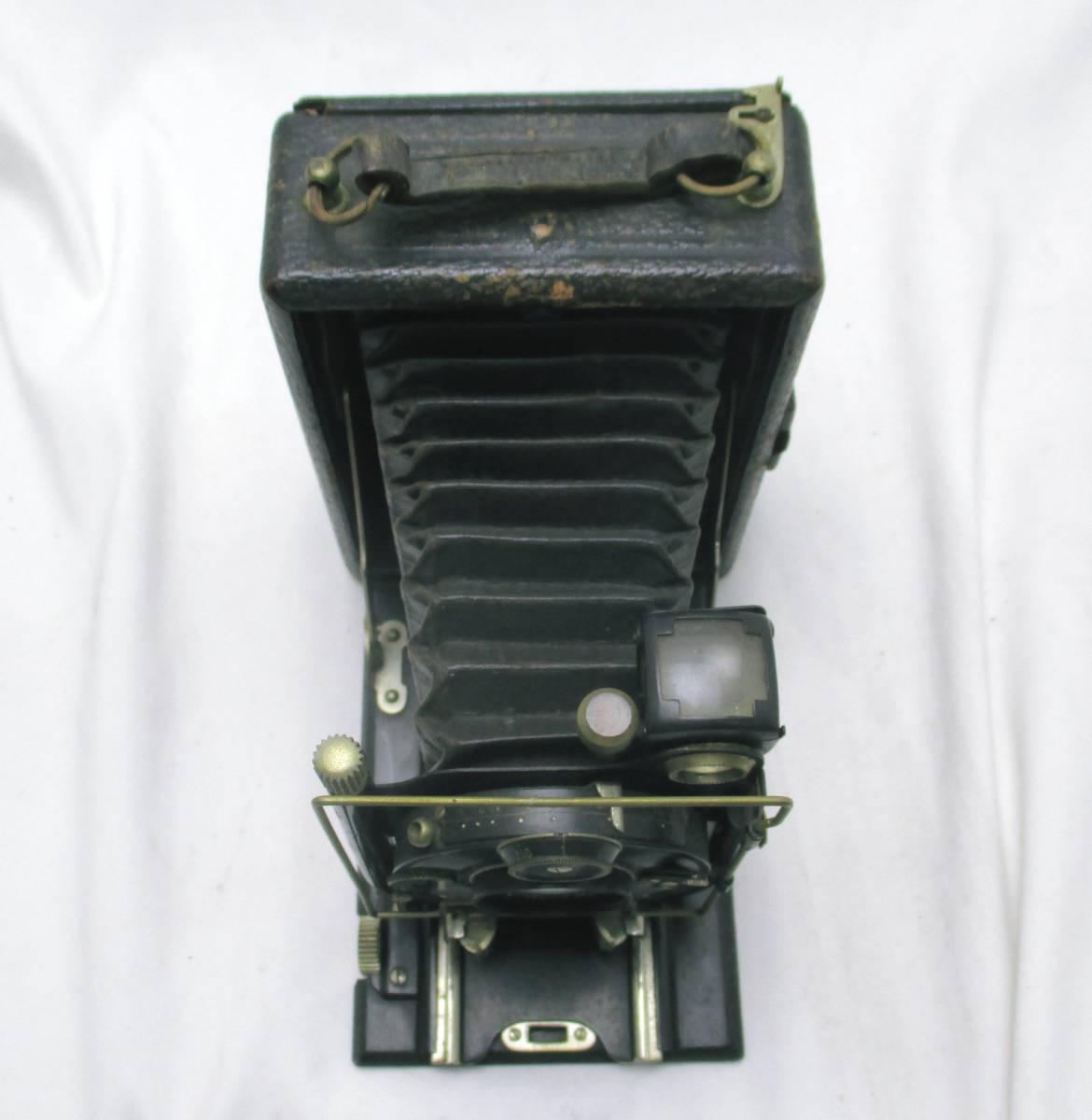 蛇腹カメラ COMPUR レンズ RODENSTOCK Munchen DOPPEL ANASTIGMAT ERYNAR 1:4.5 F=10.5cm★ジャンク 【a0460523】_画像5
