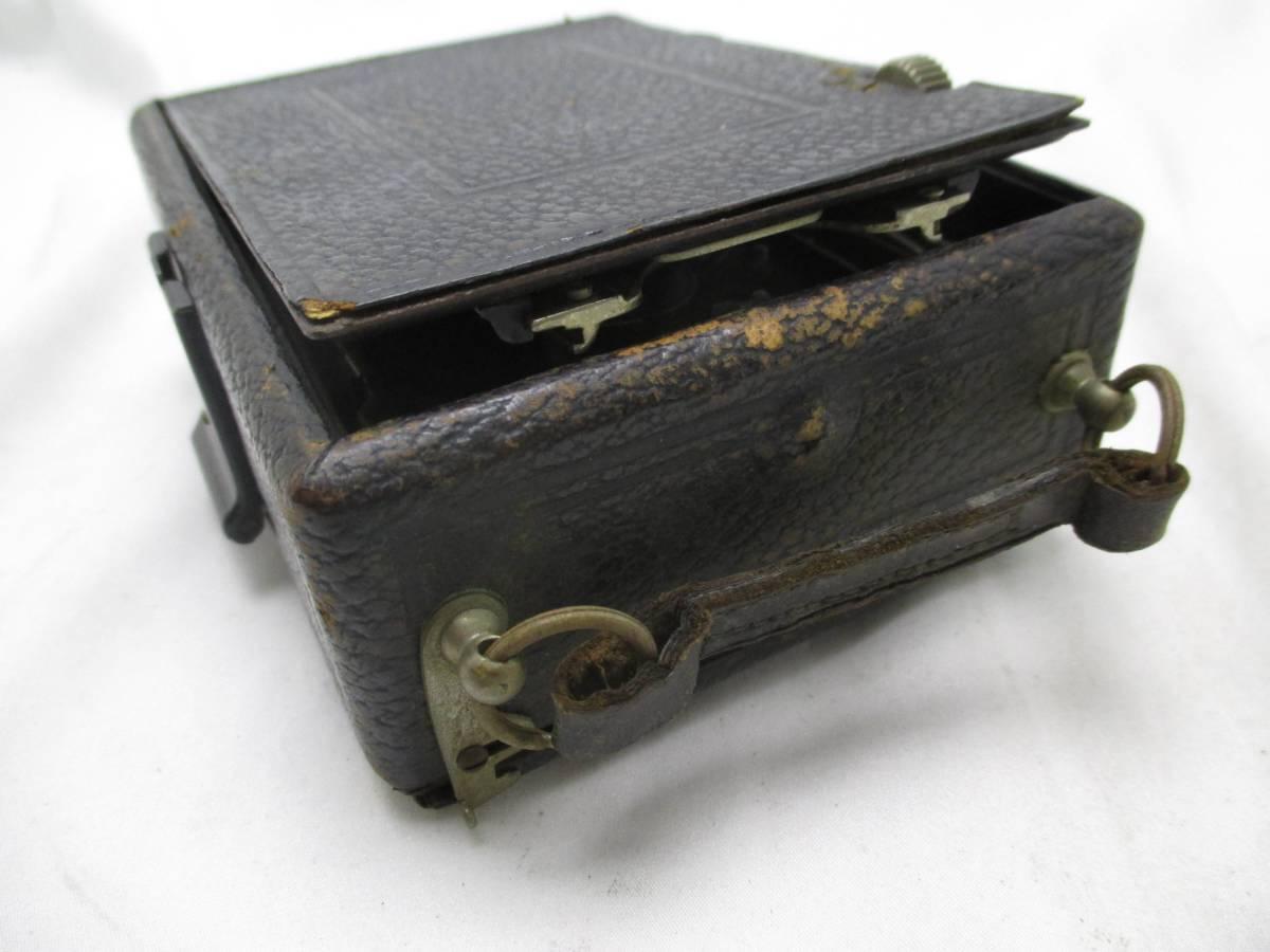 蛇腹カメラ COMPUR レンズ RODENSTOCK Munchen DOPPEL ANASTIGMAT ERYNAR 1:4.5 F=10.5cm★ジャンク 【a0460523】_画像6