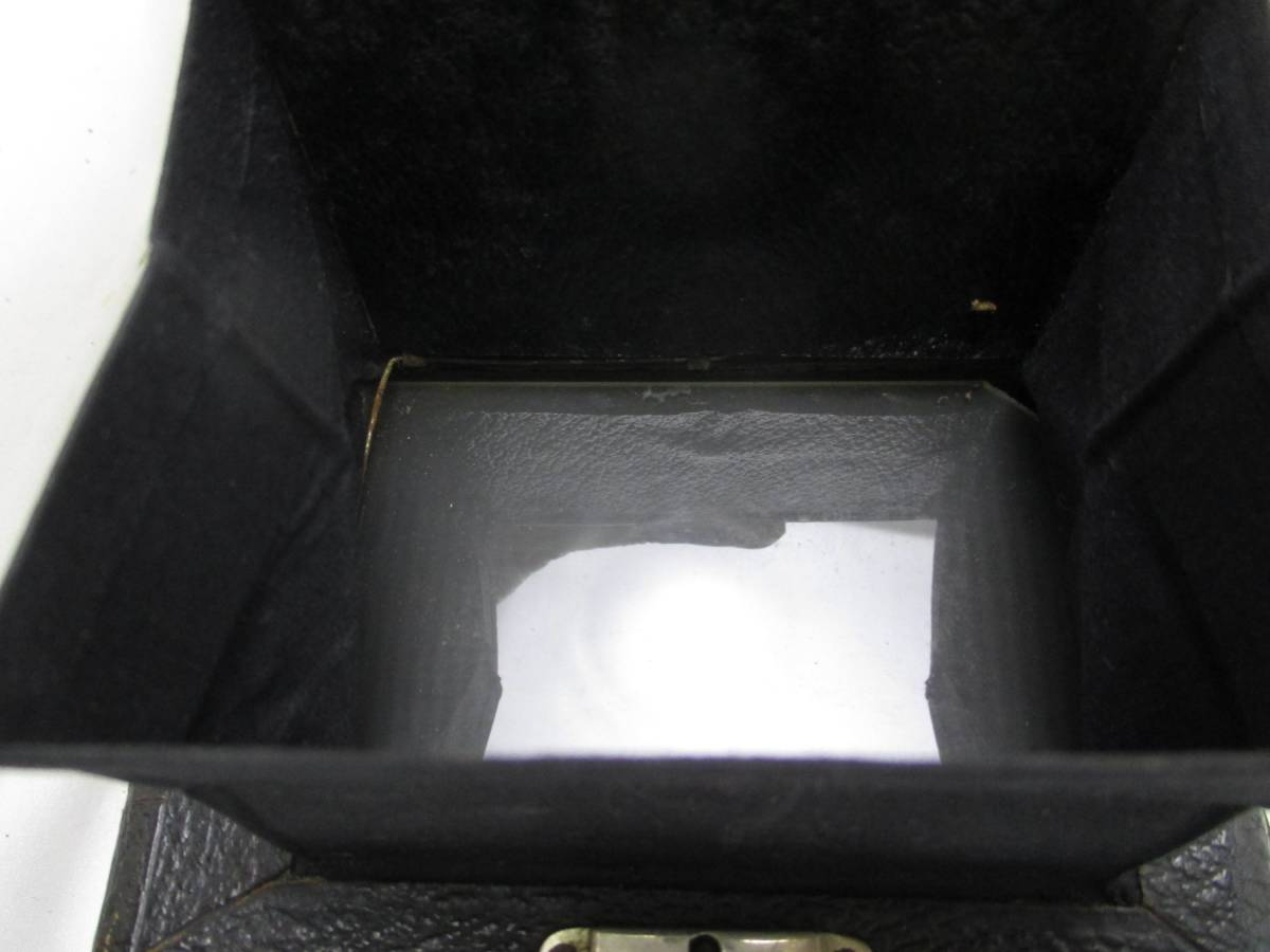 蛇腹カメラ COMPUR レンズ RODENSTOCK Munchen DOPPEL ANASTIGMAT ERYNAR 1:4.5 F=10.5cm★ジャンク 【a0460523】_画像8
