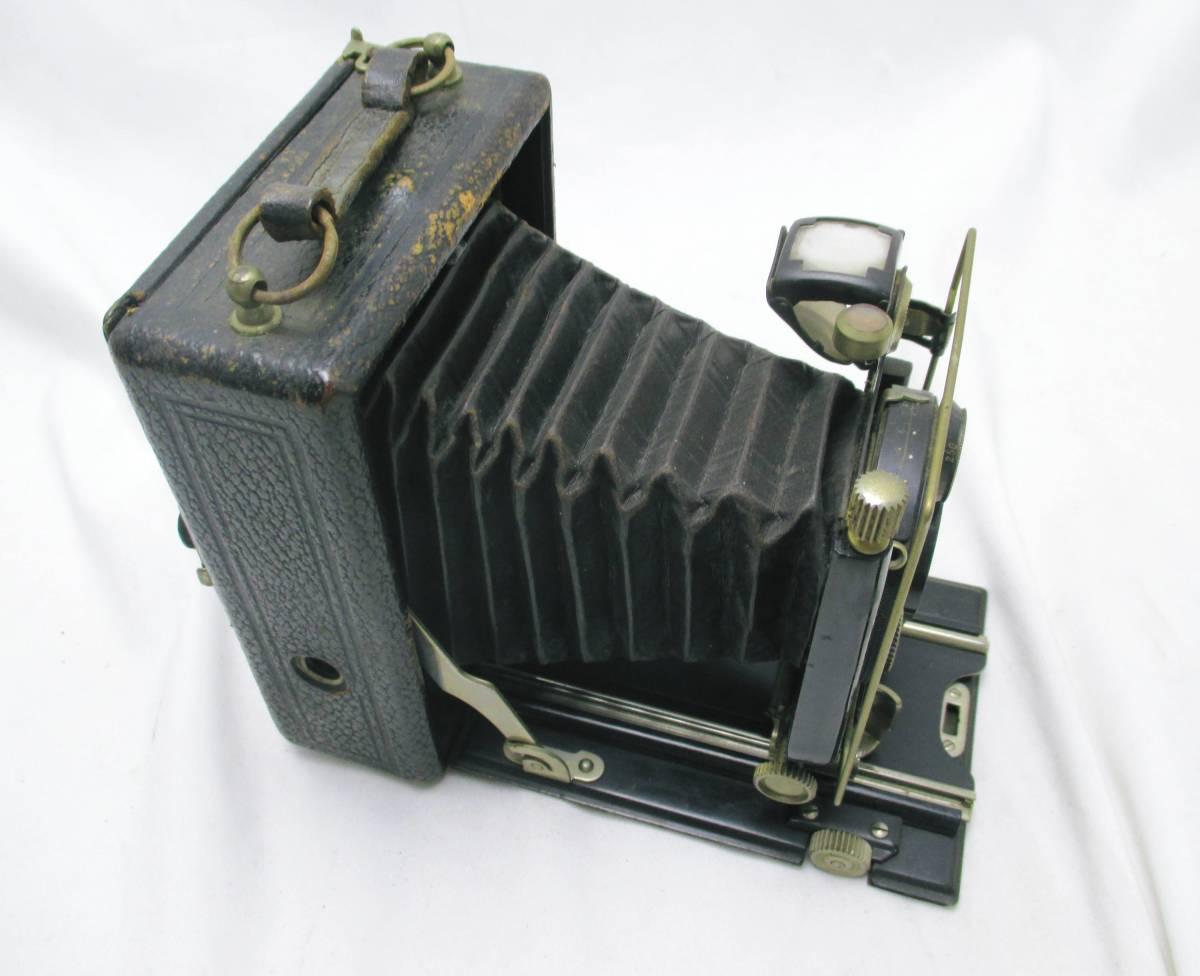 蛇腹カメラ COMPUR レンズ RODENSTOCK Munchen DOPPEL ANASTIGMAT ERYNAR 1:4.5 F=10.5cm★ジャンク 【a0460523】_画像4