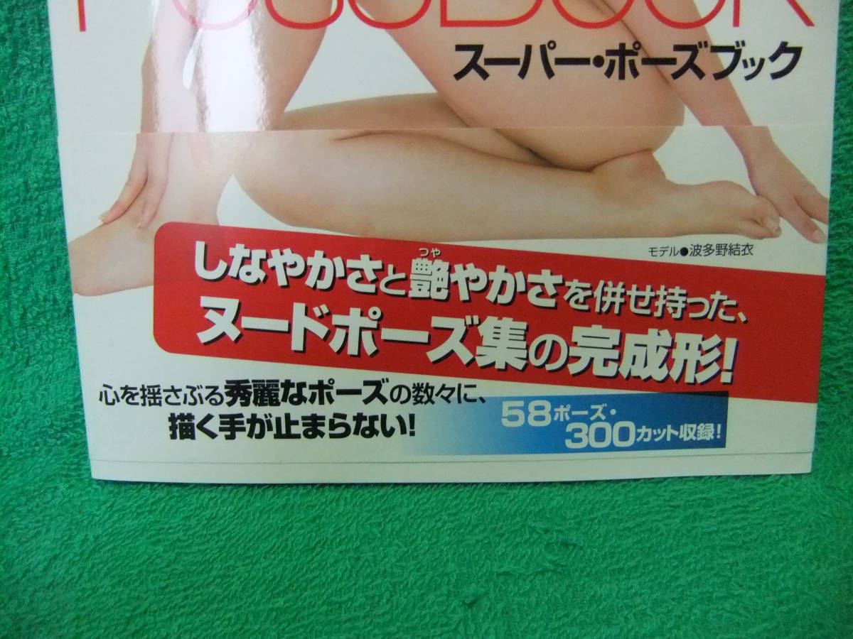 【新品同様】スーパー・ポーズブック ヌード編3_画像2