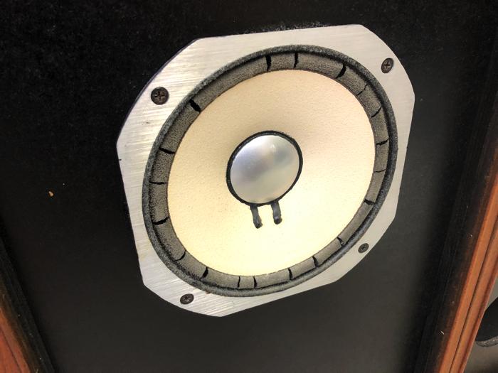 【エッジ要交換】SANSUI サンスイ スピーカー SP-LE8T mkII フルレンジスピーカー バスレフ方式【動作品】♪_画像2