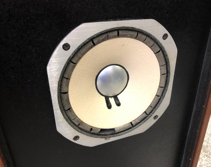 【エッジ要交換】SANSUI サンスイ スピーカー SP-LE8T mkII フルレンジスピーカー バスレフ方式【動作品】♪_画像4