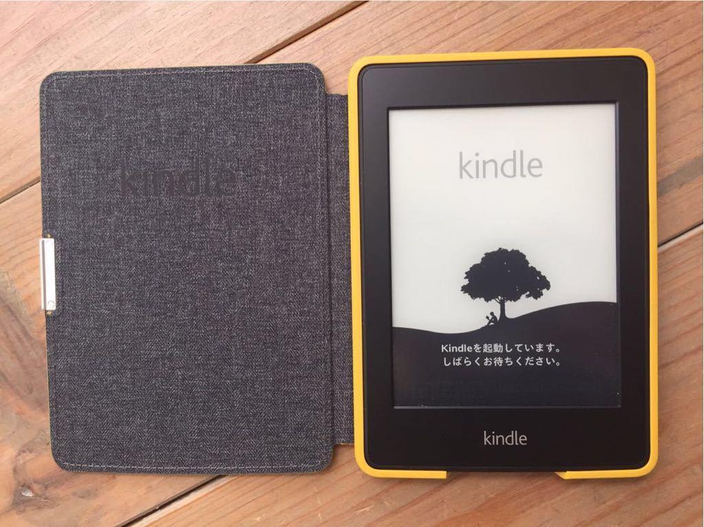 Kindle paperwhite キンドル ケース付 中古品_画像3