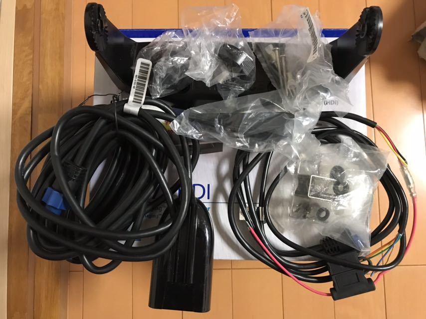 ★ローランス LOWRANCE ELITE-7×HDI 魚探 振動子付 未使用品★_画像5