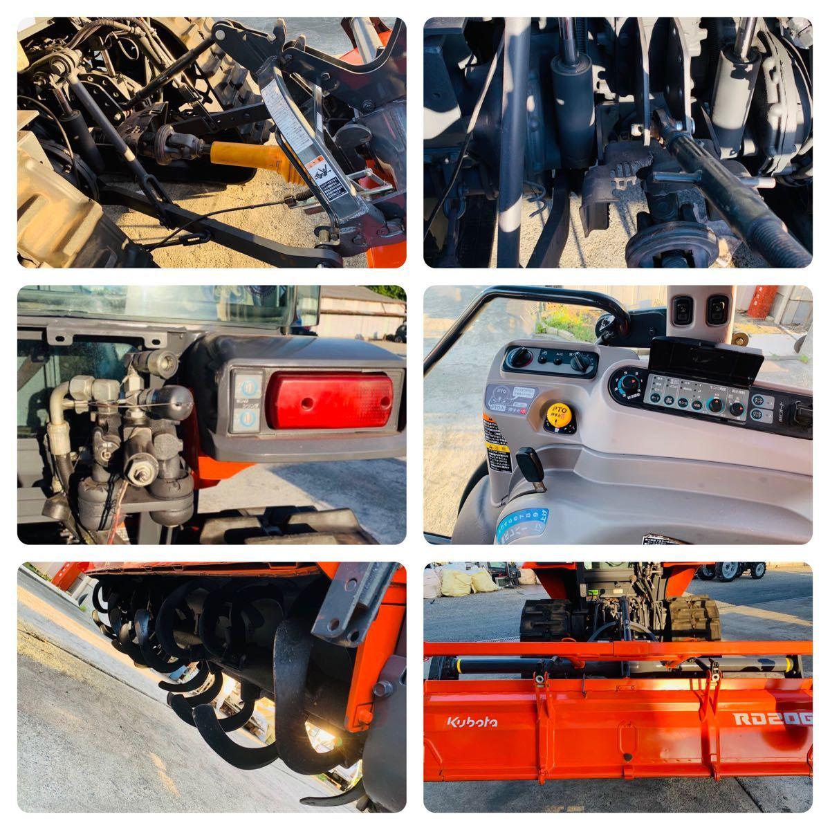 クボタ トラクターKL505 ハイスピード エアコンキャビン付き 高速パワクロ 50馬力 。_画像10