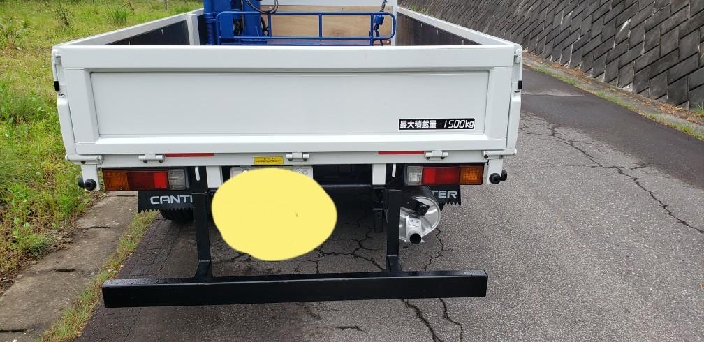 キャンター 4WD クレーン付  車検付 すぐに使用できます。_画像5