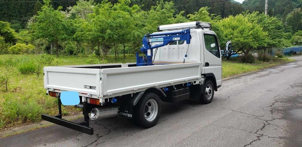 キャンター 4WD クレーン付  車検付 すぐに使用できます。_画像4