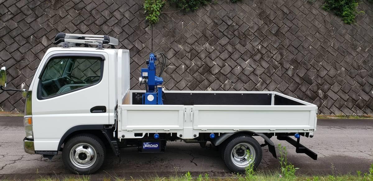 キャンター 4WD クレーン付  車検付 すぐに使用できます。_画像2