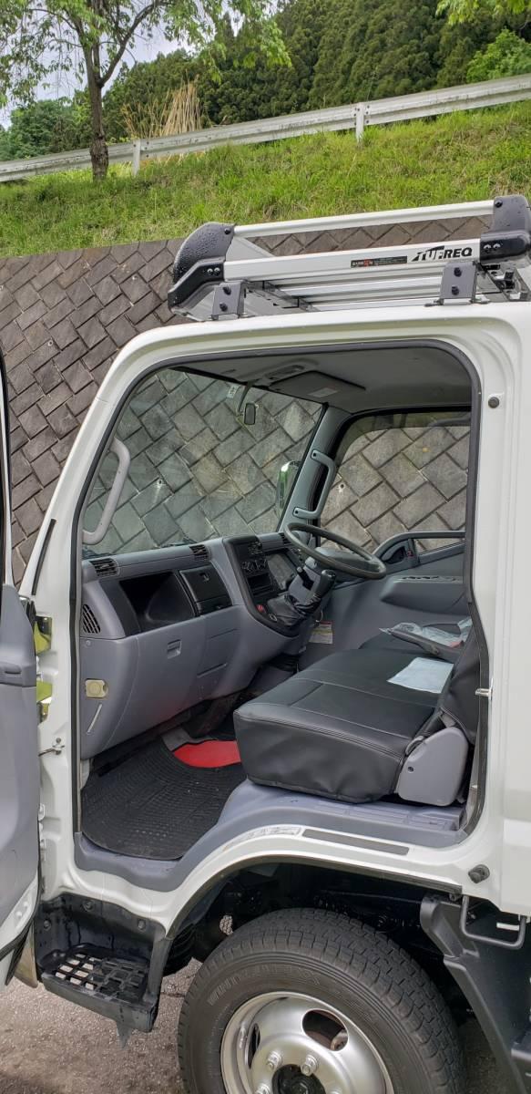 キャンター 4WD クレーン付  車検付 すぐに使用できます。_画像6