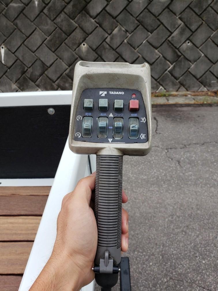 キャンター 4WD クレーン付  車検付 すぐに使用できます。_画像9