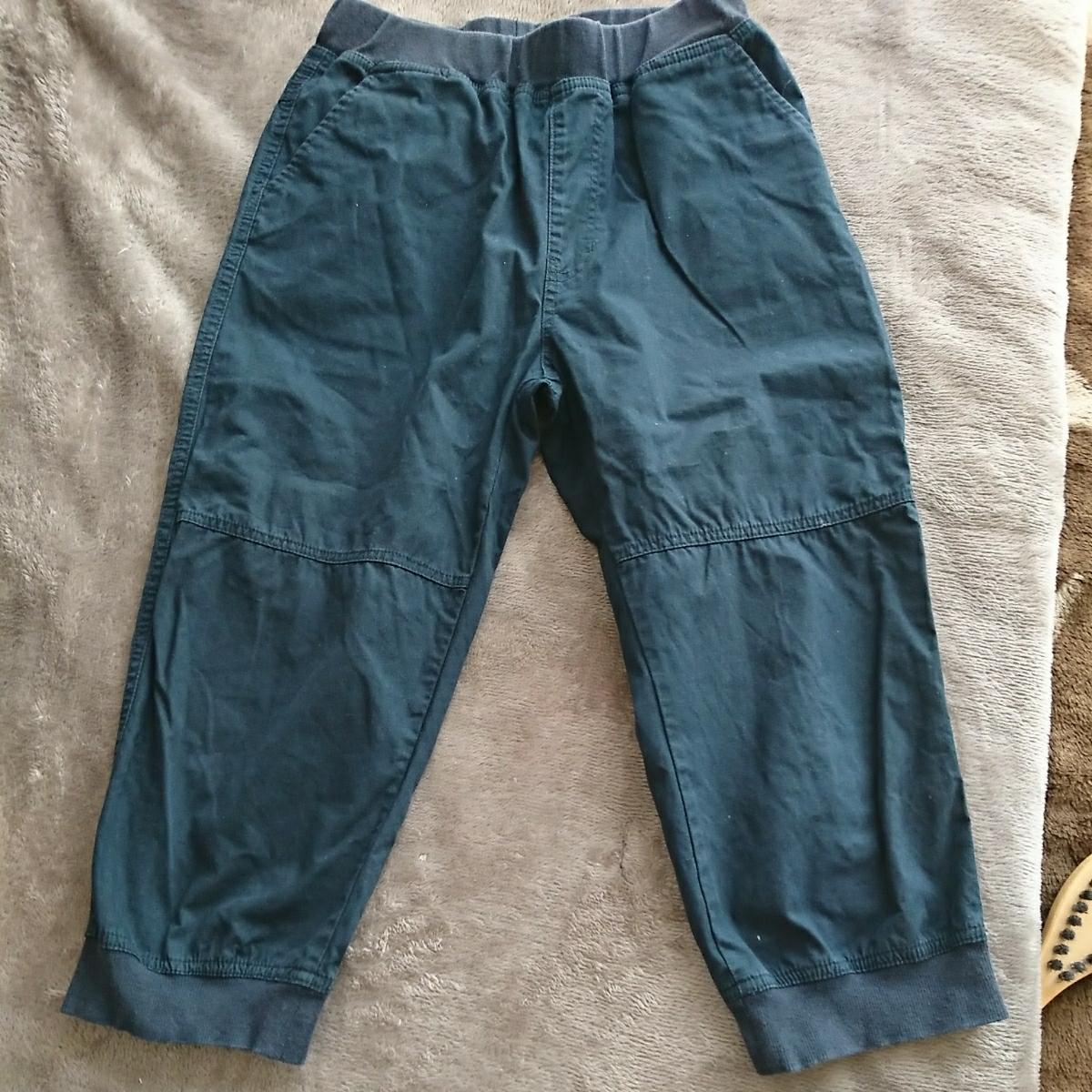 半端丈パンツ 7分 七分くらい 150 160サイズ 小学生高学年から中1くらいの男の子に ハーフパンツより長めの丈 _画像3