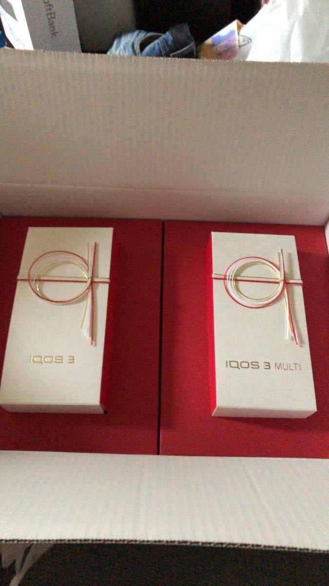激安新品iQOS3&iQOS3 マルチ 日本祝賀限定モデル 本体キット 2台セット_画像4