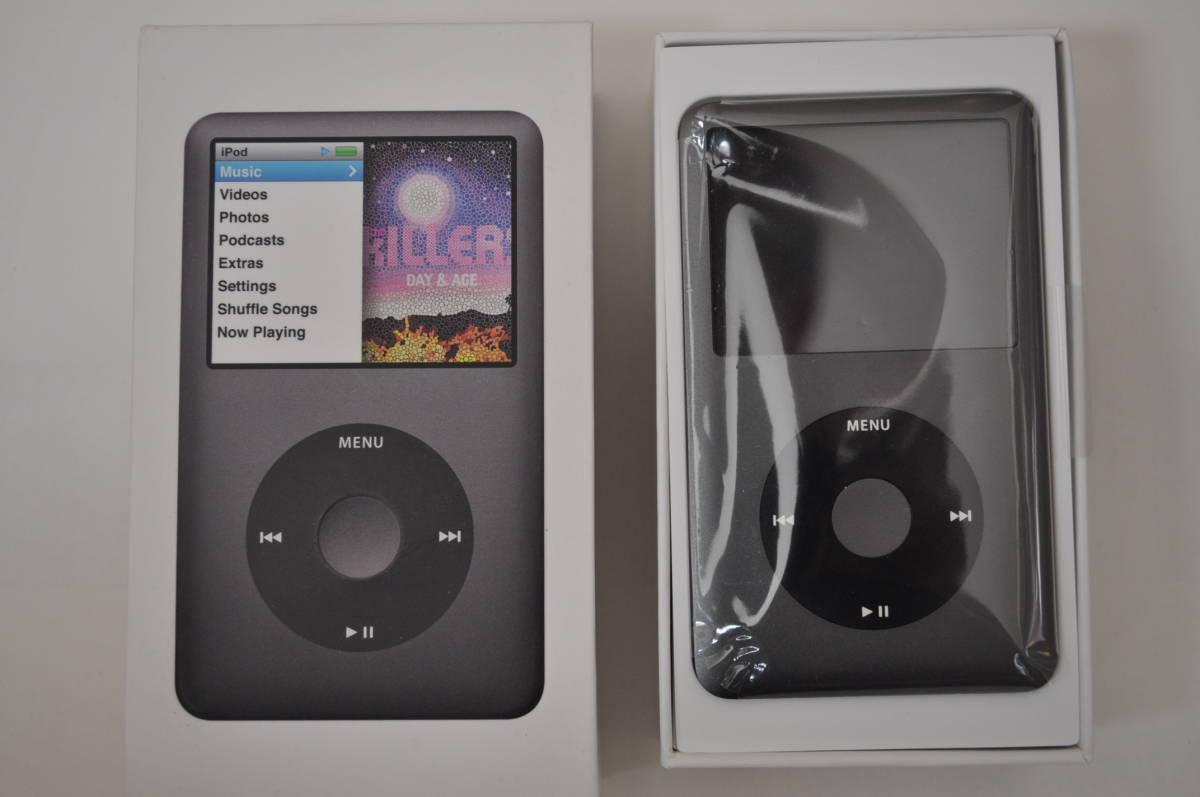 ※訳有り Apple iPod classic 160GB Black MC297J/A A1238 中古 ブラック アップル
