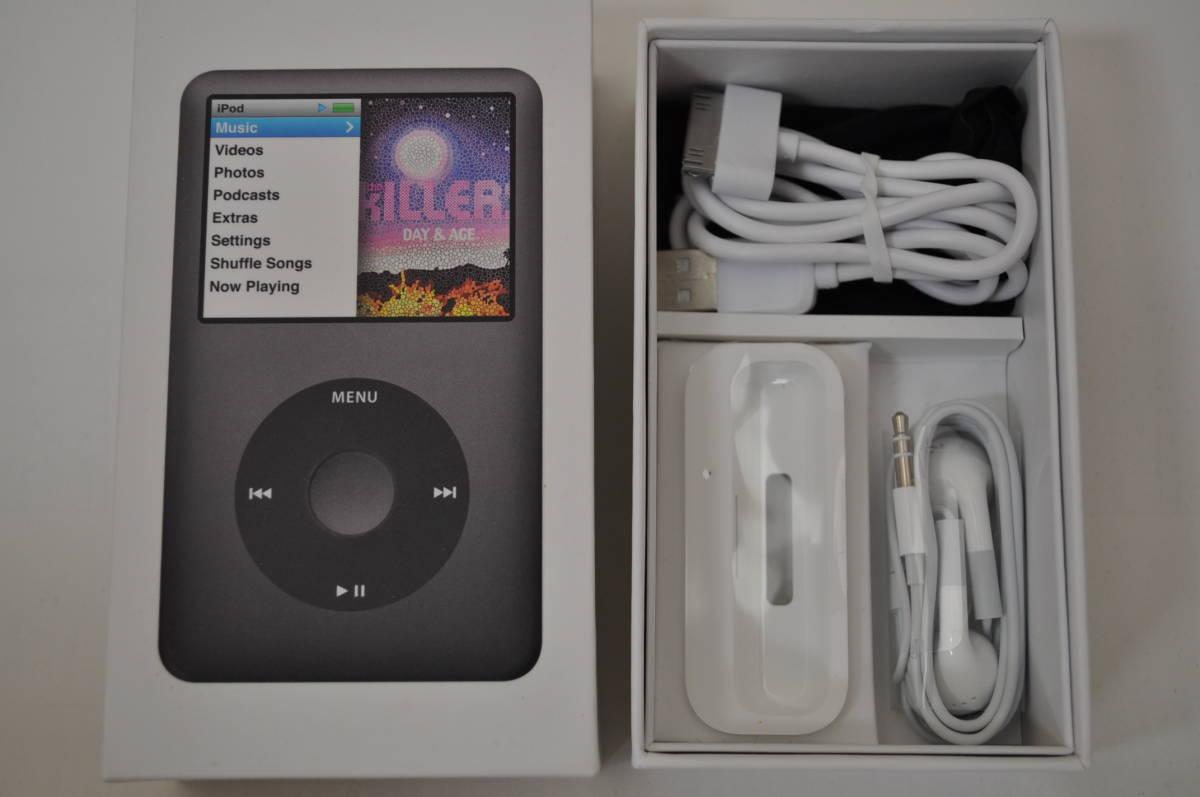 ※訳有り Apple iPod classic 160GB Black MC297J/A A1238 中古 ブラック アップル _画像2